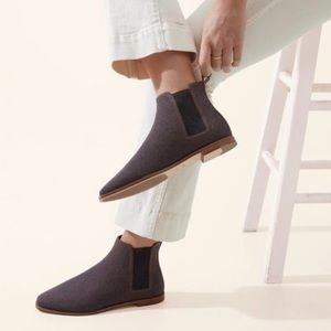 Rothy's Merino Wool Cocoa Brown Ankle Boot 8